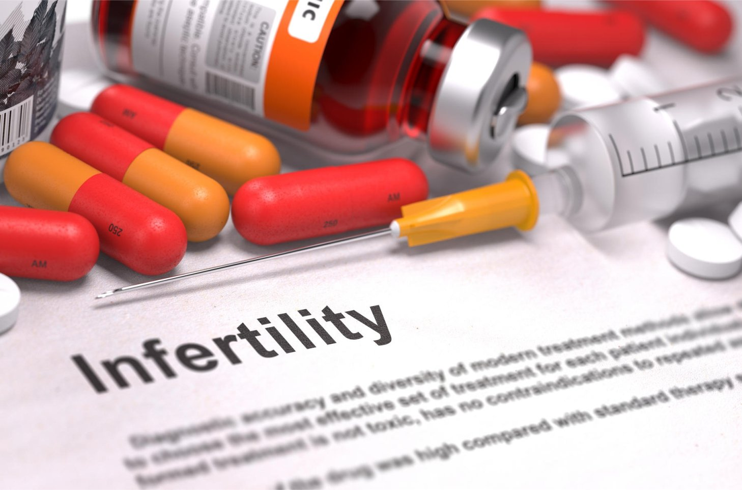 Multivitamins and Antioxidant for Male Infertility